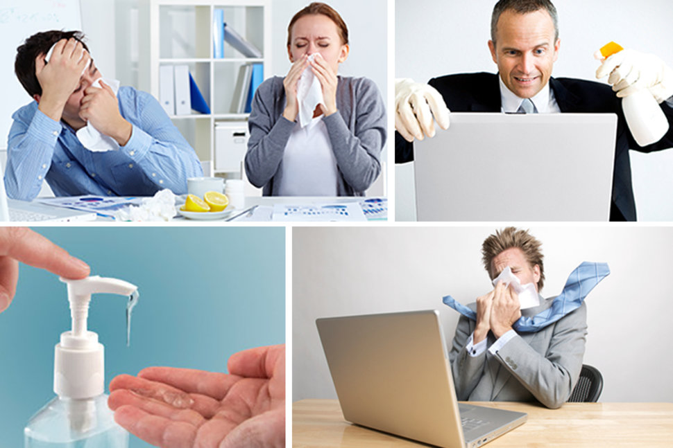 Tips to Prevent Spreading Disease in Office